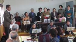 発表会の様子(平成24年12月15日11時)