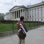 ワシントンDC ホワイトハウス前